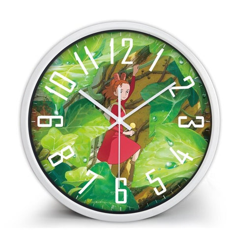 Arrietty the Borrower Theme Clock