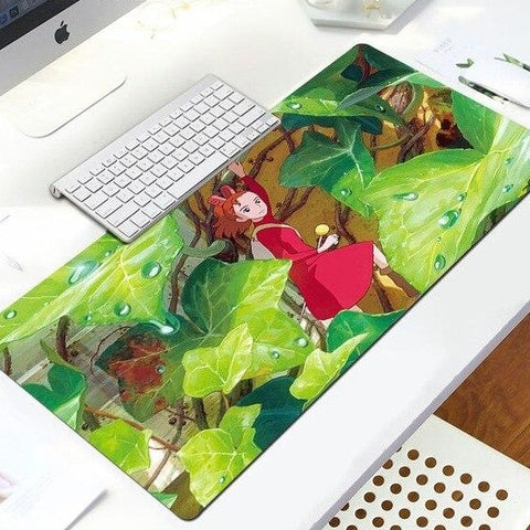 Arrietty The Borrower Anime Gaming Mousepad