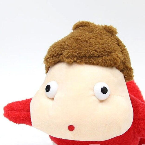 Ponyo on The Cliff By The Sea Soft Plush Toy Stuffed Doll