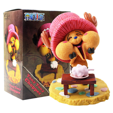 One Piece Tony Tony Chopper Cute Action Figure Model