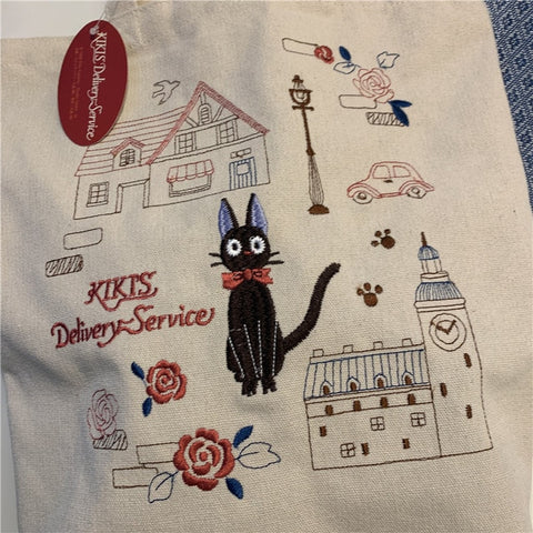 Original Kiki's Delivery Service Shoulder Tote Bag