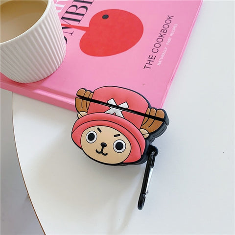 One Piece Pink Tony Tony Chopper AirPod Case