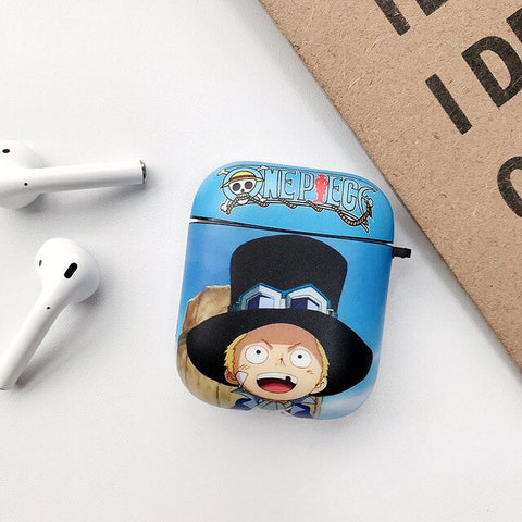 One Piece Sabo AirPod Case