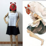 Princess Mononoke San Cosplay Costume