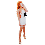 One Piece Nami White Dress Cosplay Costume