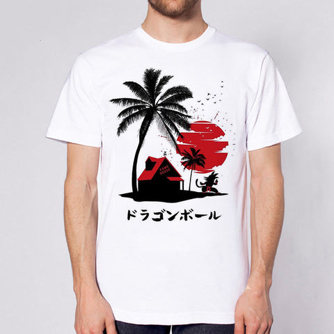 Dragon Ball Z Master Roshi's Kame House T-Shirt
