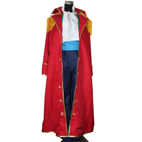 One Piece Gol D. Roger Pirate Uniform Cosplay Costume – Anime Monks