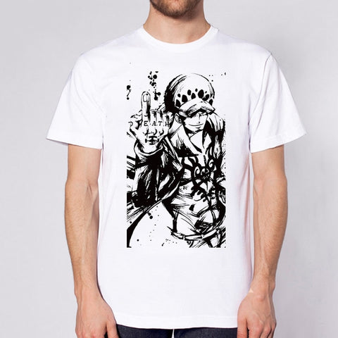One Piece Trafalgar Law Death T-Shirt