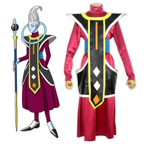 Dragon Ball Z Whis Cosplay Costume
