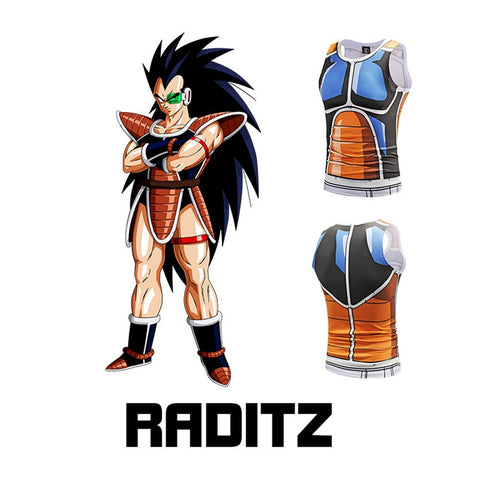 Dragon Ball Z Raditz Cosplay Costume