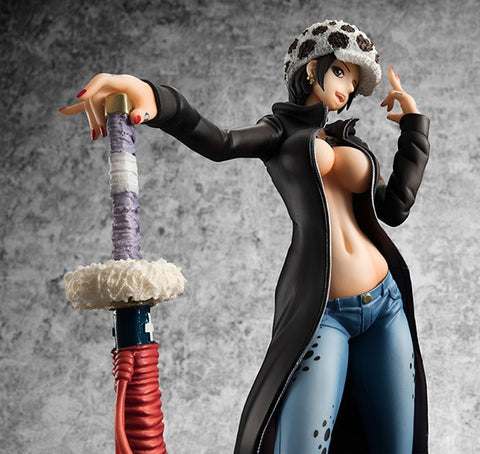 One Piece Trafalgar D Water Law Female Version Figure Model