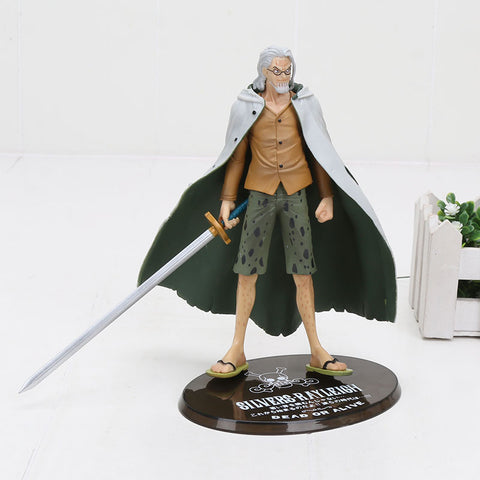 One Piece Silvers Rayleigh Dark King Action Figure