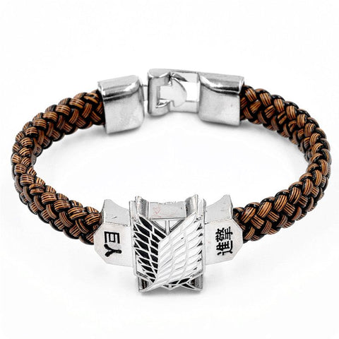 Attack on Titan Engraved Bracelet