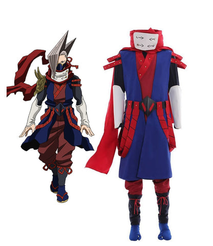 My Hero Academia Shinya Kamihara Edgeshot Cosplay Costume