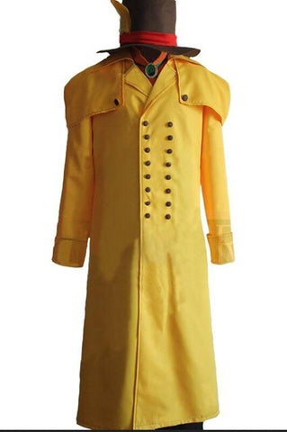 My Hero Academia Atsuhiro Sako Mr. Compress Cosplay Trench Coat
