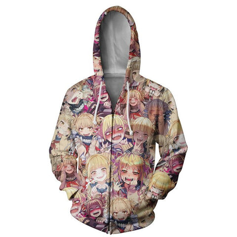 My Hero Academia Himiko Toga Color Aheago Hoodie