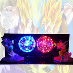 Dragon Ball Z Goku Vegeta Ultimate Battle LED Lamp