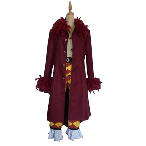 One Piece Bartolomeo the Cannibal Cosplay Costume
