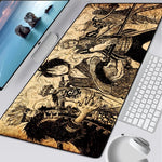 One Piece Sworn Brothers Manga Mouse Pad