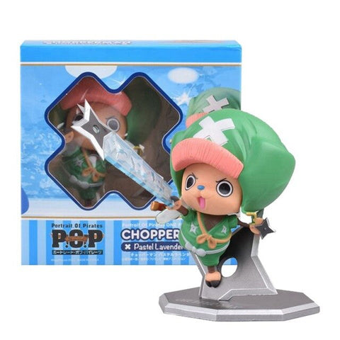 One Piece Tony Tony Chopper Green Outfit Model Figure