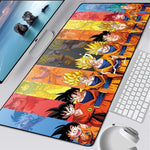 Dragon Ball Z Goku's Transformation Mouse Pad