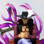 One Piece Dracule Mihawk Sitting Throne Action Figure