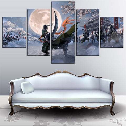 One Piece Roronoa Zoro Canvas
