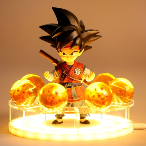 Dragon Ball Z Kid Goku Dragon Balls LED Lamp