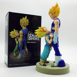 Dragon Ball Z Super Saiyan Vegeta and Trunks Father With Son Action Figure
