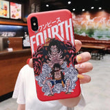 One Piece Monkey D. Luffy Gear Fourth iPhone Case
