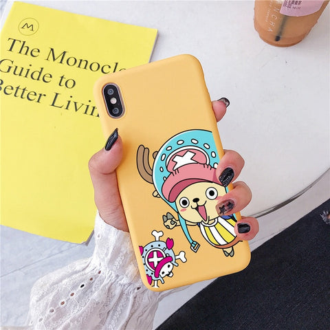 One Piece Yellow Tony Tony Chopper iPhone Case