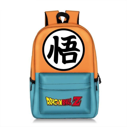 Dragon Ball Z Goku Kanji Wisdom Backpack