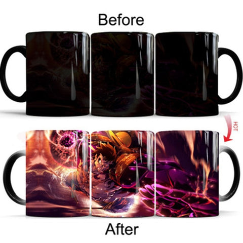One Piece Monkey D. Luffy Gear Fourth Color Changing Mug Cup