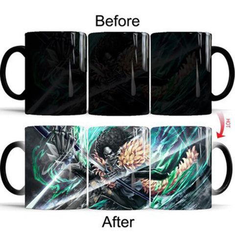 One Piece Brook Color Changing Mug Cup