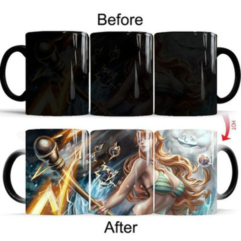 One Piece Nami Color Changing Mug Cup