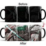 One Piece Roronoa Zoro Color Changing Mug Cup