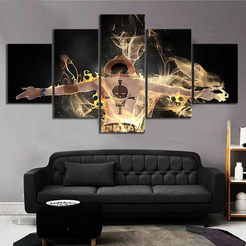 One Piece Portgas D. Ace Canvas