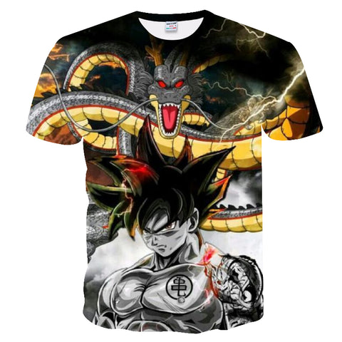 Dragon Ball Z Shenron Goku T-Shirt