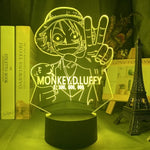 One Piece Monkey D. Luffy Bounty LED Lamp