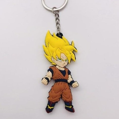 Dragon Ball Z Goku Super Saiyan Keychain