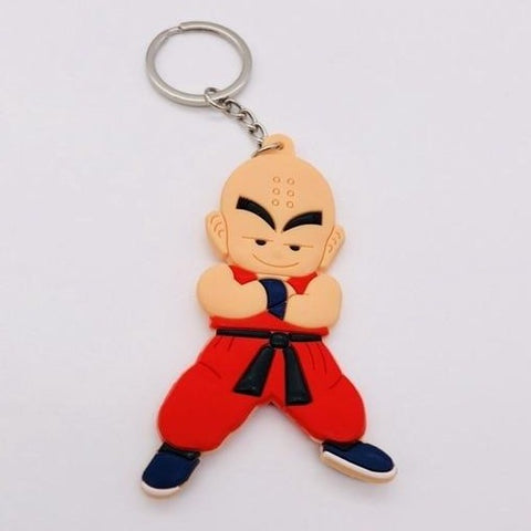 Dragon Ball Z Krillin Keychain