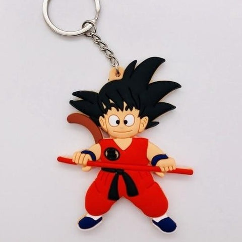 Dragon Ball Z Kid Goku Tail Keychain