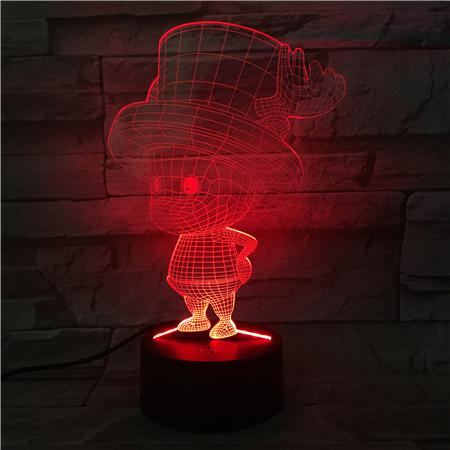 One Piece 3D Tony Tony Chopper LED Lamp Figure