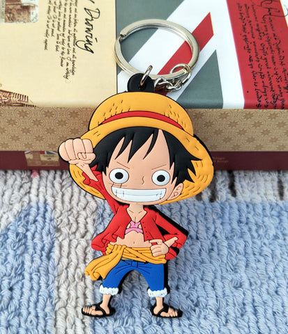 One Piece Monkey D. Luffy Keychain