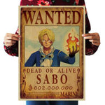 One Piece Dead or Alive Sabo Wanted Bounty Poster