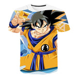 Dragon Ball Z 3D Goku Orange Gi T-Shirt
