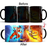 Dragon Ball Z Golden Freeza Battle Heat Sensitive Color Changing Mug Cup
