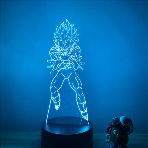 Dragon Ball Z Vegeta Final Flash Mode LED Lamp Figure