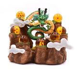 Dragon Ball Z Magical Shenron Surrounded by Dragon Balls Mountain