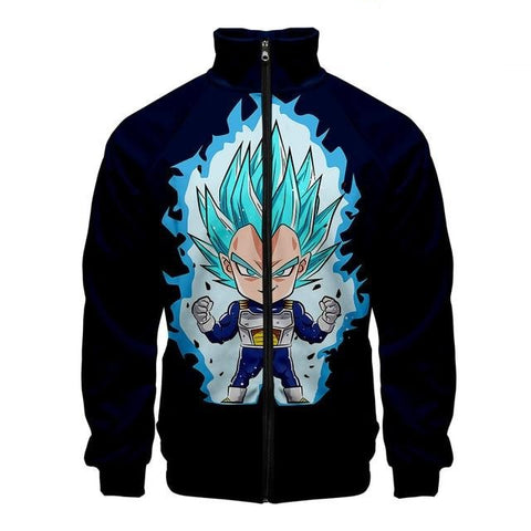 Dragon Ball Z Vegeta Super Saiyan Blue Jacket